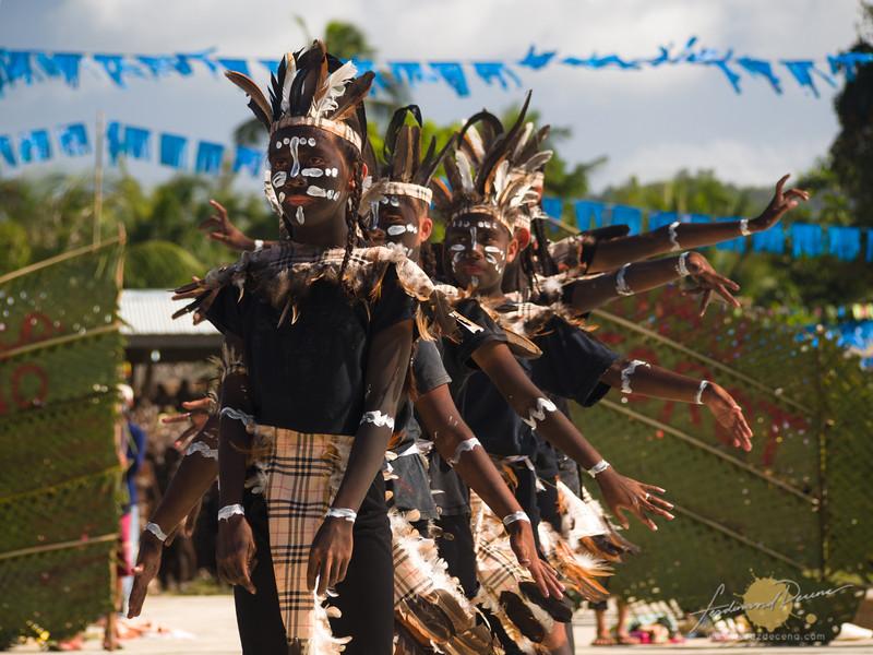 Tribu Igorot of Purok Happy Valley performing