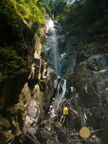 The 70-feet high big falls