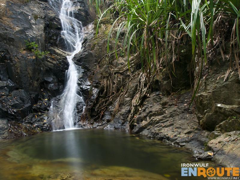 Water now flowing at Nagkalit-kalit Falls