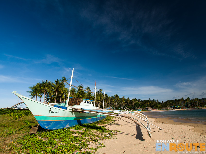 The Calitang Beach side
