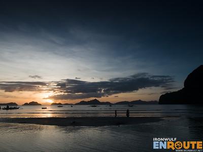 Corong Corong Sunset