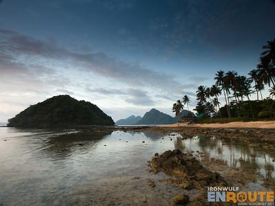 Depeldet Island, Corong Corong, Sunset