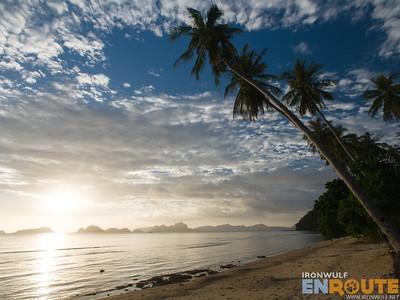 Depeldet Island Sunset