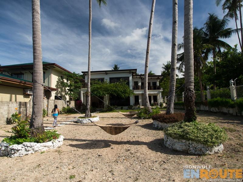 A beautiful modern house turned resort at El Nido Reef Strand Resort