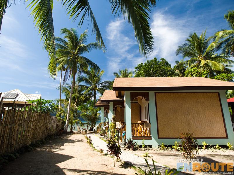 The Three Room Beach Front Angelnido Resort