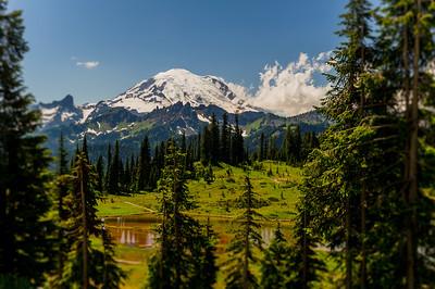 Mt. Rainier and Tipso Lake