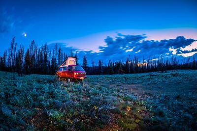 Camping at Lion Rock, Ellensburg, WA