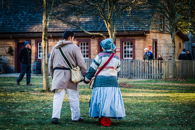 Characters in Costume at Fort Nisqually