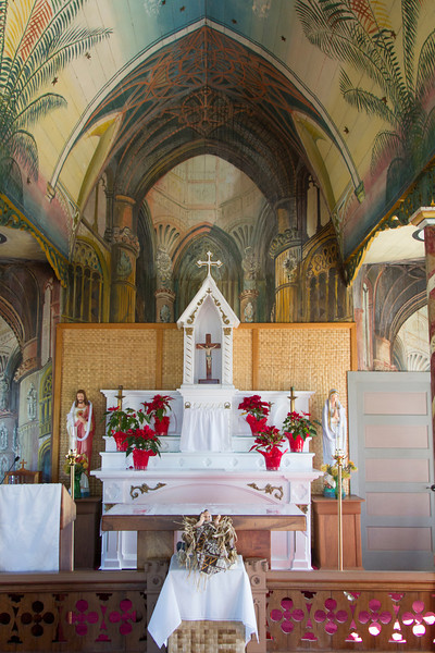 """Painted Church', St. Benedict's near Captain Cook, HI"