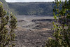 Hawaii Volcanoes Nat. Park: Kilauea Iki Trail, descending into crater.