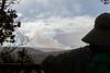 Hawaii Volcanoes Nat. Park: Halema'uma'u Crater in the distance, from near the Kilauea Iki Trail.