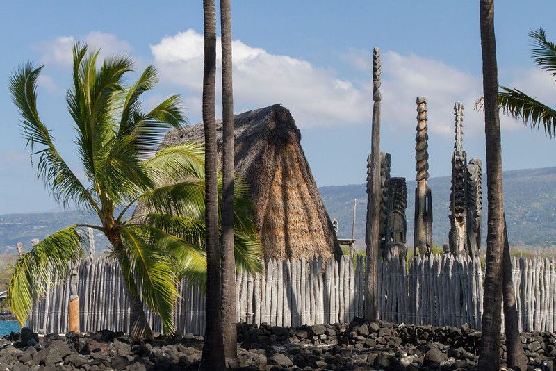 """Place of Refuge"", Puuhonua o Honaunau National Historical Park, Kona, HI"