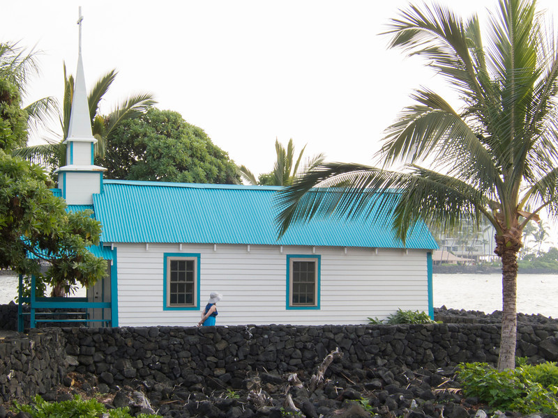 St. Peter's Catholic Church, Kailua-Kona.