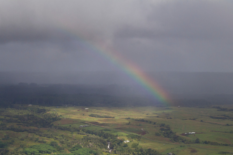 From helicopter: near Hilo, HI