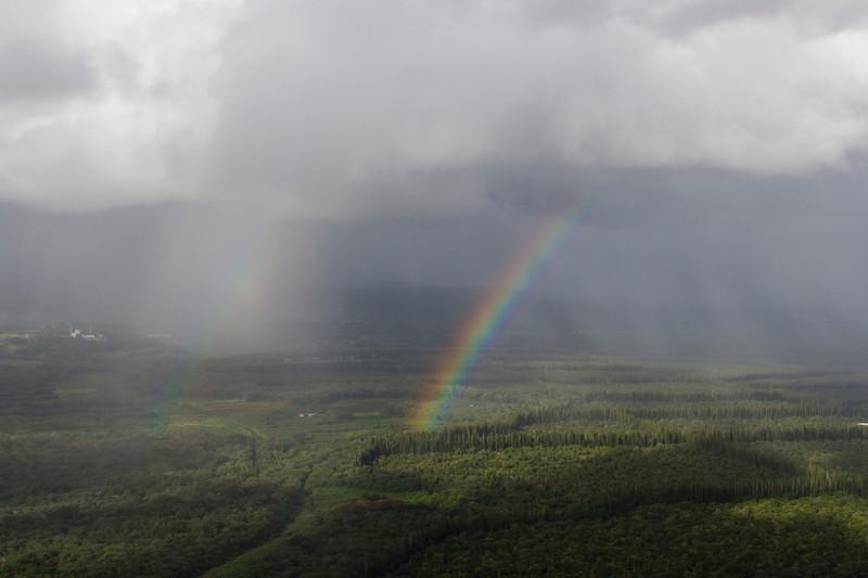 From helicopter: near Pahoa, HI
