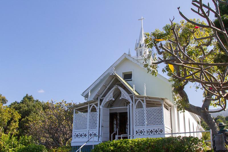 """Painted Church', St. Benedict's near Captain Cook, HI"