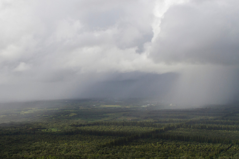 From helicopter: near Pahoa, HI