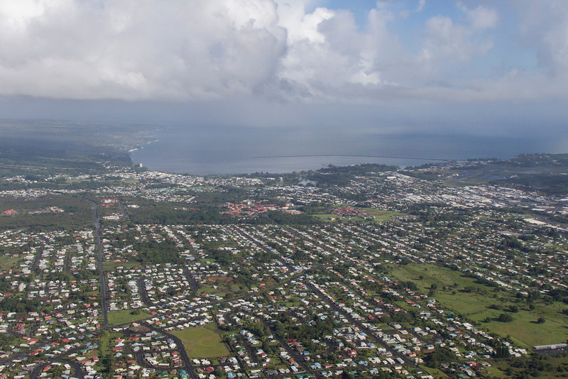 Hilo from helicopter