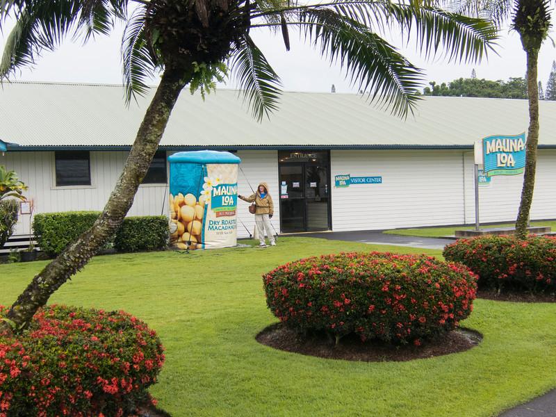 Mauna Loa Macademia Nuts factory