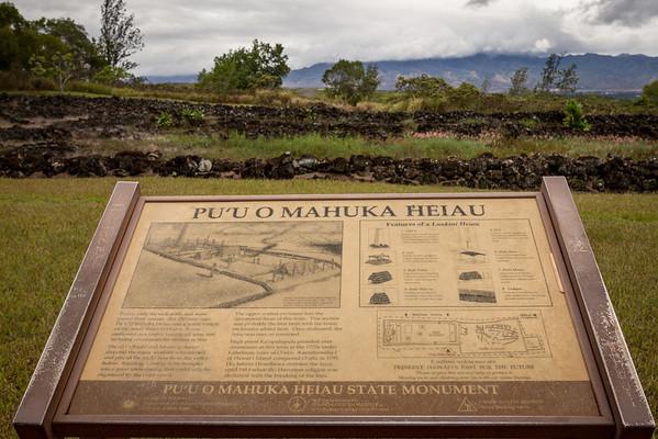 Pu'U O Mahuka Heiau 9-24-13