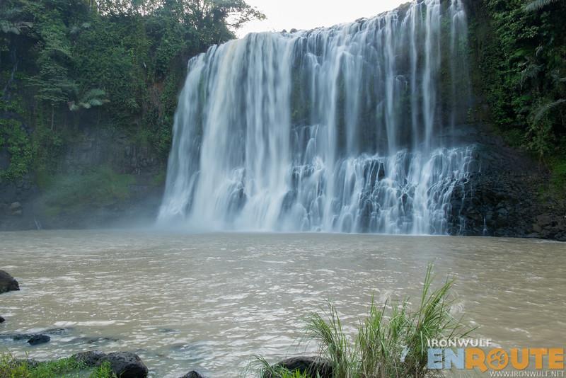 Getting close to the Sta Cruz Falls