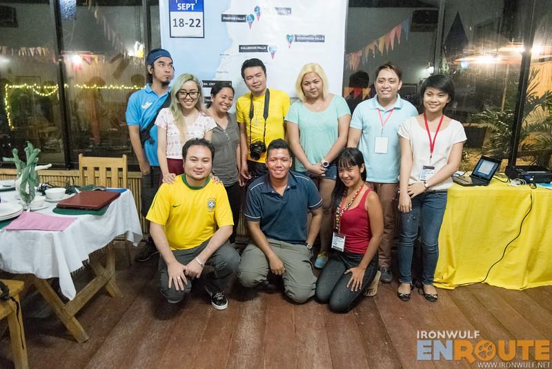 This year's blogger participants at WAT 2