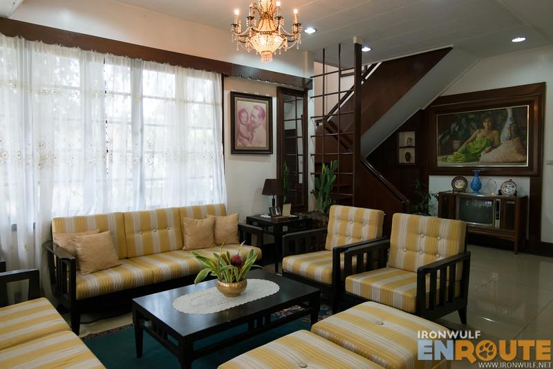 Ancestral house living room