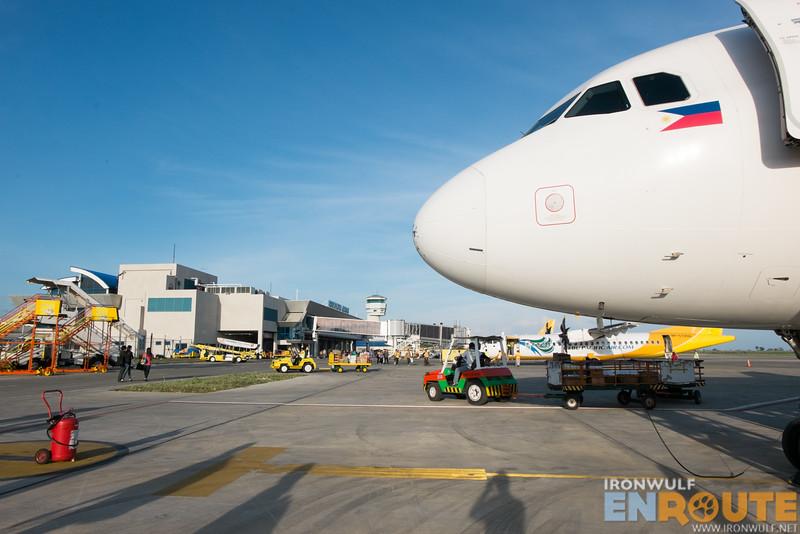 Landing 20 minutes earlier at Laguindingan Airport