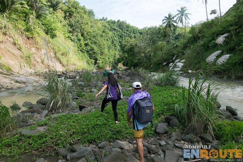 The trek to Sta Cruz Falls