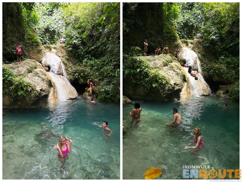 Yes its hard to resist this falls with that kind of water
