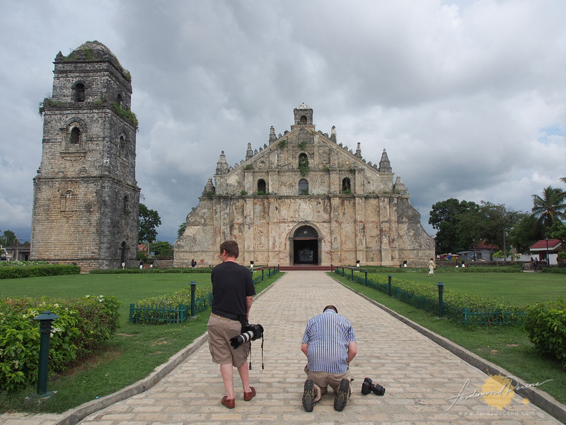 Shooting Paoay Church