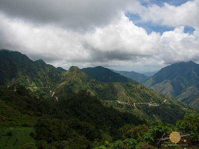 View of Besang Pass