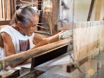 Inabel Weaving in Camangaan