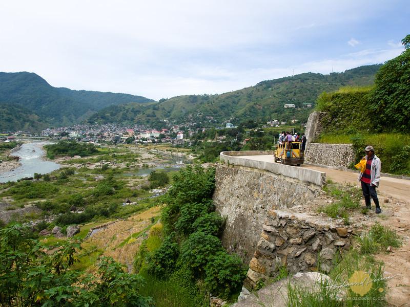 Bontoc town up ahead