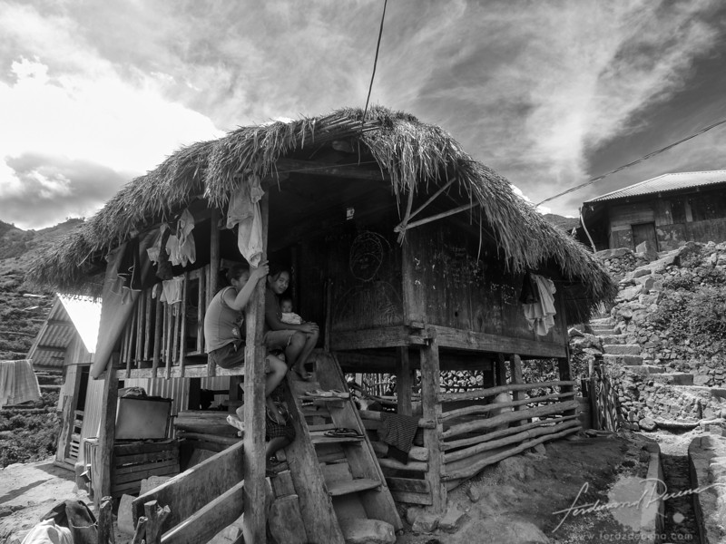 One of the traditional Kalinga houses in Buscalan
