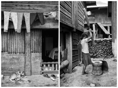 Buscalan Monochrome Collage