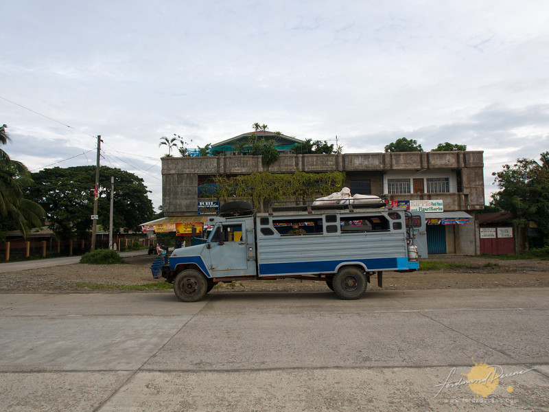 The jeep to Tinglayan, parked at Bulanao, Tabuk