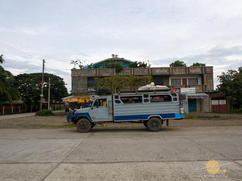 The jeep to Tinglayan, parked at Bulanao, Tabuk