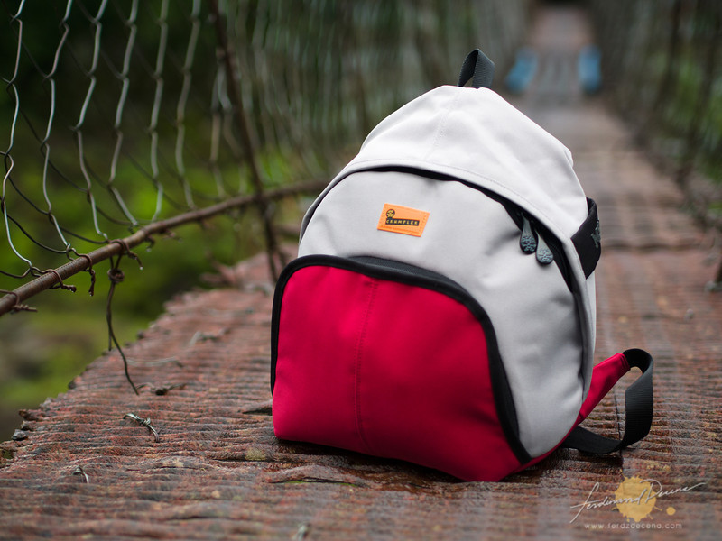 The 5 M$H backpack Dark Red varian