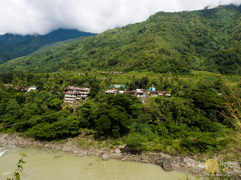 View of Luplupa from the road to Tinglayan