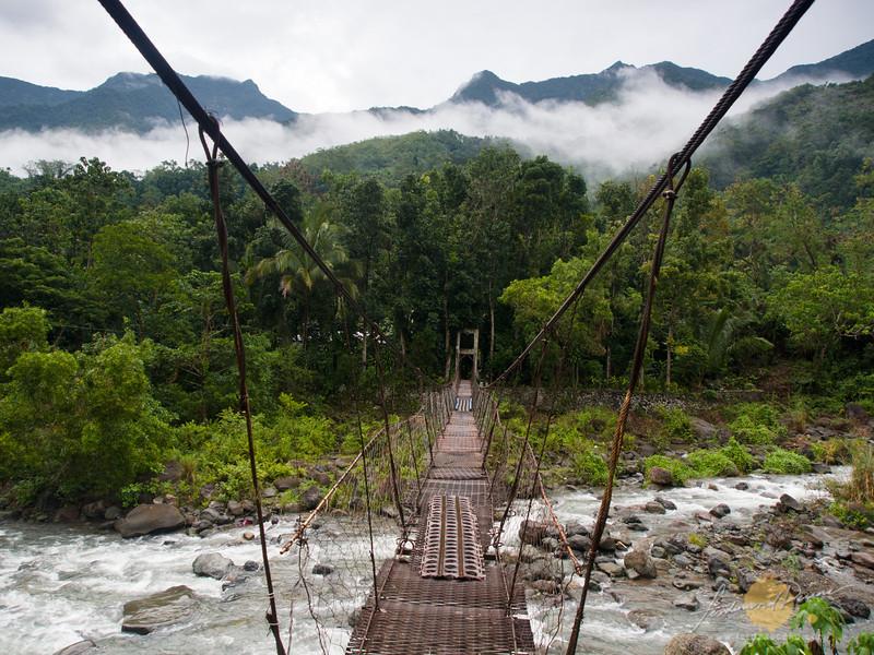The bridge over Chico River