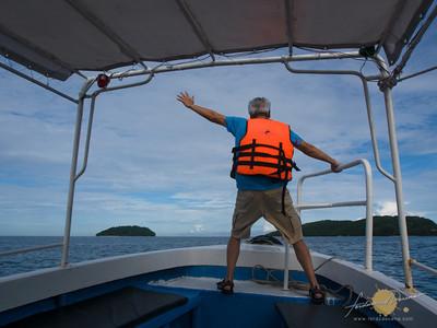 Speedboat to Pulau Manukan