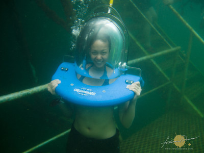 Borneo Reef World, Pontoon Sea Walking