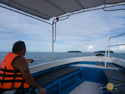 Speedboat to Pulau Manukan