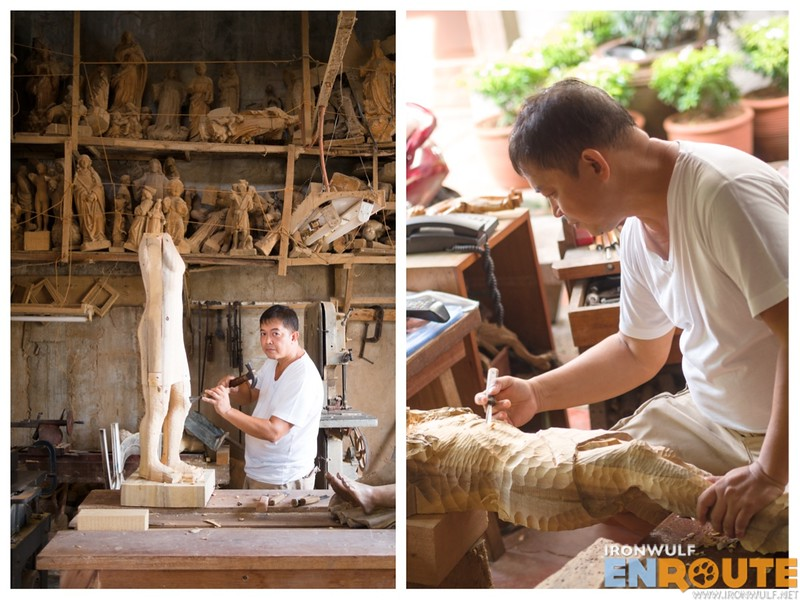 Portraits of Paloy Cagayat a gem of Paete Woodcarving