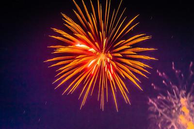Lakefair Fireworks at Capitol Lake