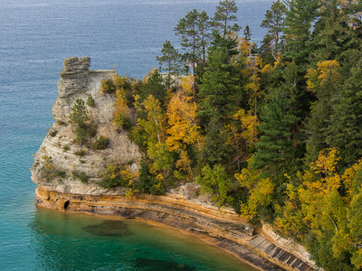 Miners Castle Pictured Rocks National Lakeshore Michigan U.P.
