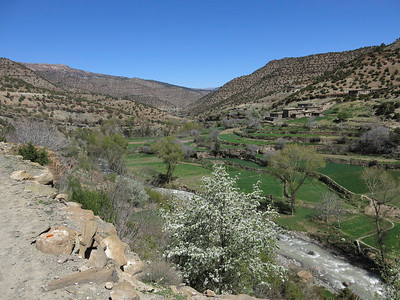 Zawiya Ahansal region - the long narrow valley and associated plateaus that contain the villages where Atlas Cultural Foundation does its work