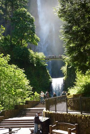 Multnomah Falls, Oregon. June 2013