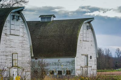 The barns at Nisqually